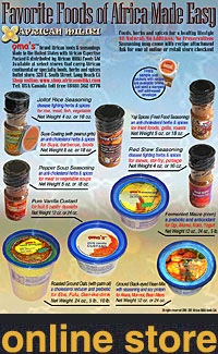 African Miliki online store. Shop African foods and seasonings